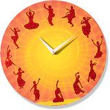Zeeshaan The Nritya Kala Wall Clock