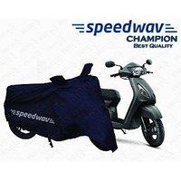 Speedwav Champion Bike Body Cover For Tvs Jupiter