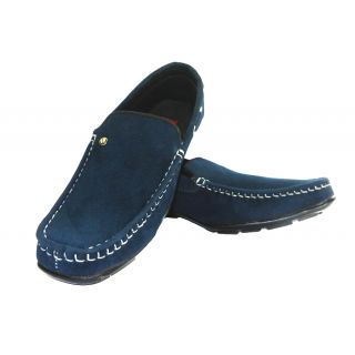 Men's Stylish Loafer Blue Shoes