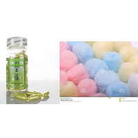 Combo of Aleovera face Pack oil Capsules and cotton balls( 50 balls)