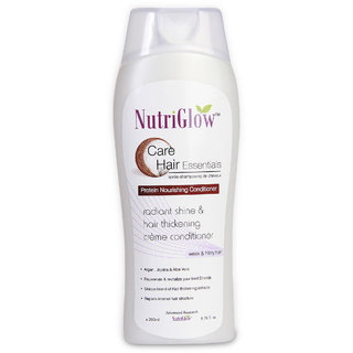 Nutriglow Protein Nourishing Conditioner - For Weak and Frizzy Hair