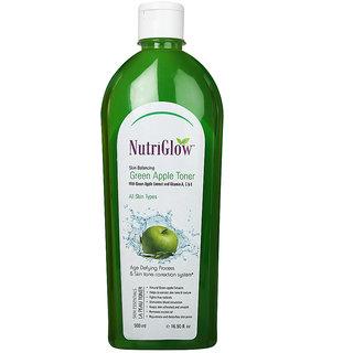 nutriglow Green Apple Toner 500ml