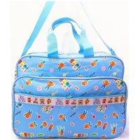 DIAPER / MOTHER BAG PVC 7052 BLUE