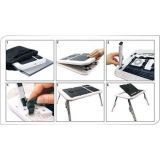 Portable Laptop Stand Foldable e Table With 2 USB Cooling Fans