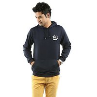 Weardo Blue Hooded Sweatshirt (Design 2)