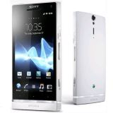 SONY XPERIA ST25 - SONY XPERIA U WHITE FLIPCOVER & SCREEN GUARD COMBO