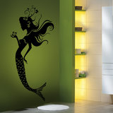 The Mermaid Wall Decal-Medium