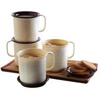 Tupperware Coffee Mugs - Set Of 4 Pcs