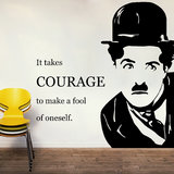 Charlie'S Quote Wall Decal-Large