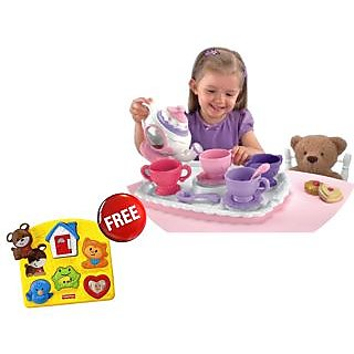 Mattel Magical Tea For Two Get Activity Puzzle Free