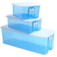 Tupperware Fridge Smart Set Of 3 Boxes