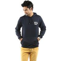 Weardo Blue Stylish Hooded Men's Sweatshirt