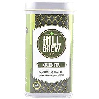 Hill Brew Green Tea (100 Gms) - Tin