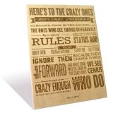 Engrave Crazy Ones Plaque-EPMQ001CO_2