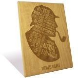 Engrave Sherlock Holmes Plaque-epmq003sh_2