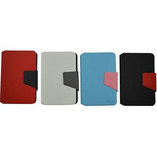 Flip Case For Samsung P 3100 / Galaxy Tab2 / Red & Black Base