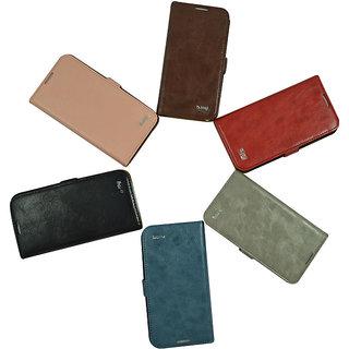 Flip Case For iPhone 5 / 5 S / Black Color