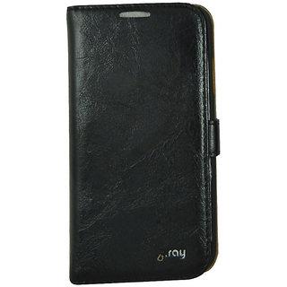Flip Case For S 4 For Samsung I 9500/ Galaxy S4 / Black Color