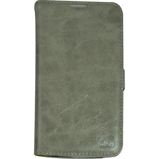 Flip Case For N 7100 / Galaxy Note 2 / Grey Color