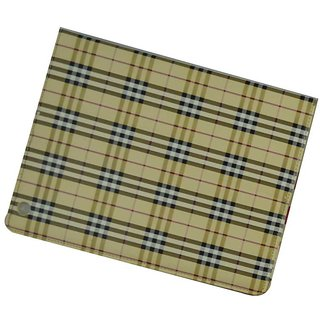 I Pad Case For All Ipads - Checks Design / Beige Color
