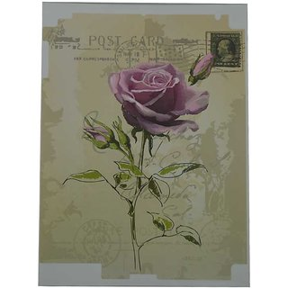 Screen Protector In Picture For All Ipads / Purple Rose