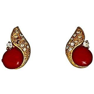 Touchstone Austrian Diamonds  Faux Ruby Earring  Pwetl016-01Ar-Y