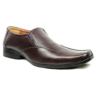JerryMouse.in Mens Brown Leather Formal Shoe - MFOR0013