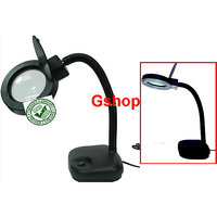 2 In 1 magnifying glass Lens table lamp (five times) Reading Light lamp