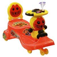 Panda Red Kat Car