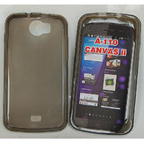 High Quality Platina Jelly Case For Micromax A110 Canvas 2 Clear Brown