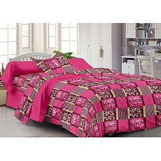 Story@Home Mustard 100% Cotton Fantasy 1 Single Bedsheet-FY1203