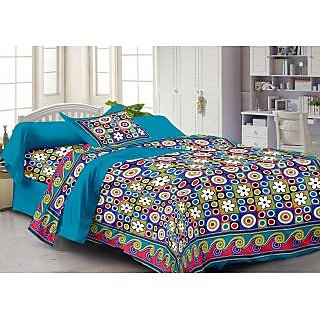 Story@Home Violet 100% Cotton Fantasy 1 Single Bedsheet-FY1130