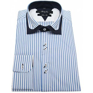 blue chek shirt for man