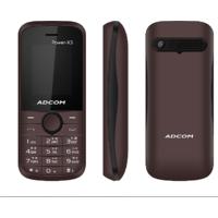 ADCOM X3 (POWER) DUAL SIM MOBILE-BROWN  BLACK