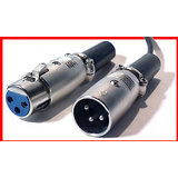 1x Microphone Low Noise Cable Lead XLR Male Female 3Meter