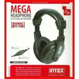 Intex Boom Mega Headphone Hs 301b Inbuilt Mic Head Phone En