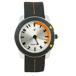 Fastrack Other Dial Multicolor Leather Strap Quartz Watch For Men