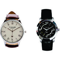 Tanz Combo Of 2 Watches FW01  FW07