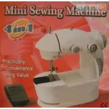 4 In 1 Mini Sewing Machine With Adaptor And Pedal (Compact With Dual Power)