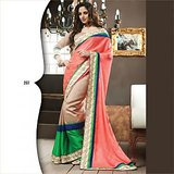 Ethnic  Designer Saree Bollywood Fancy Party Wear Wedding Sari