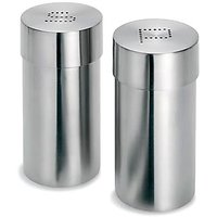 STAINLESS STEEL Cino Salt & Pepper Shakers 100% Money Back Guarantee