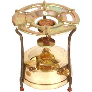 NET Kerosene Pressure Stove, Brass Tank, Single Burner, Capacity: 1.5 litre
