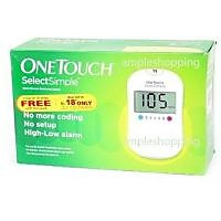 OneTouch Select Simple Glucometer Kit -10 Test Strip