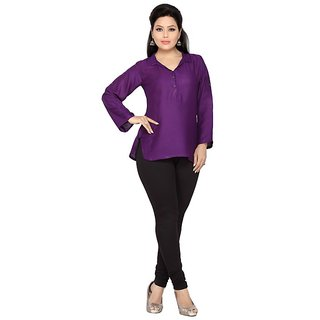 Belinda Purple Elegant And Trendy Shirt For Women