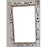 Wood Carved Mirror