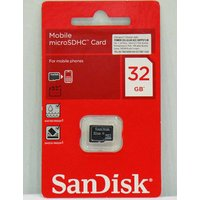 Sandisk 32GB Micro SD Memory Card - Class4 + Free Shipping