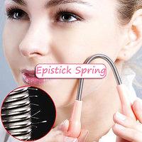 Facial Hair Removal Spring,Epicare Epilator Epistick Remover Tweezer Stick (Two)