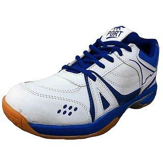 AS Marathon White Blue Shoes