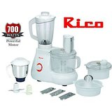 Rico Fp-102 - 700 Watts Food Processor
