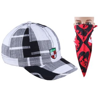Jstarmart Chex Cap With Rumal JSMFHCP1024